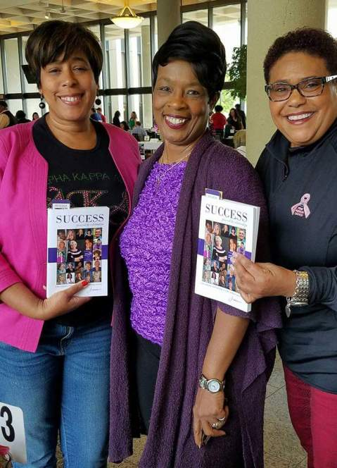 Dr. Karen Townsend and Mrs. Eva Wells supporters